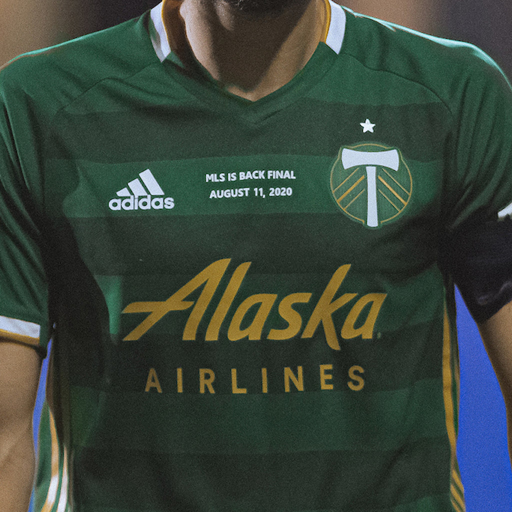 "PORTLAND TIMBERS FC 2020 ""MLS IS BACK CHAMPIONSHIP"" AUTHENTIC PRIMARY JERSEY"