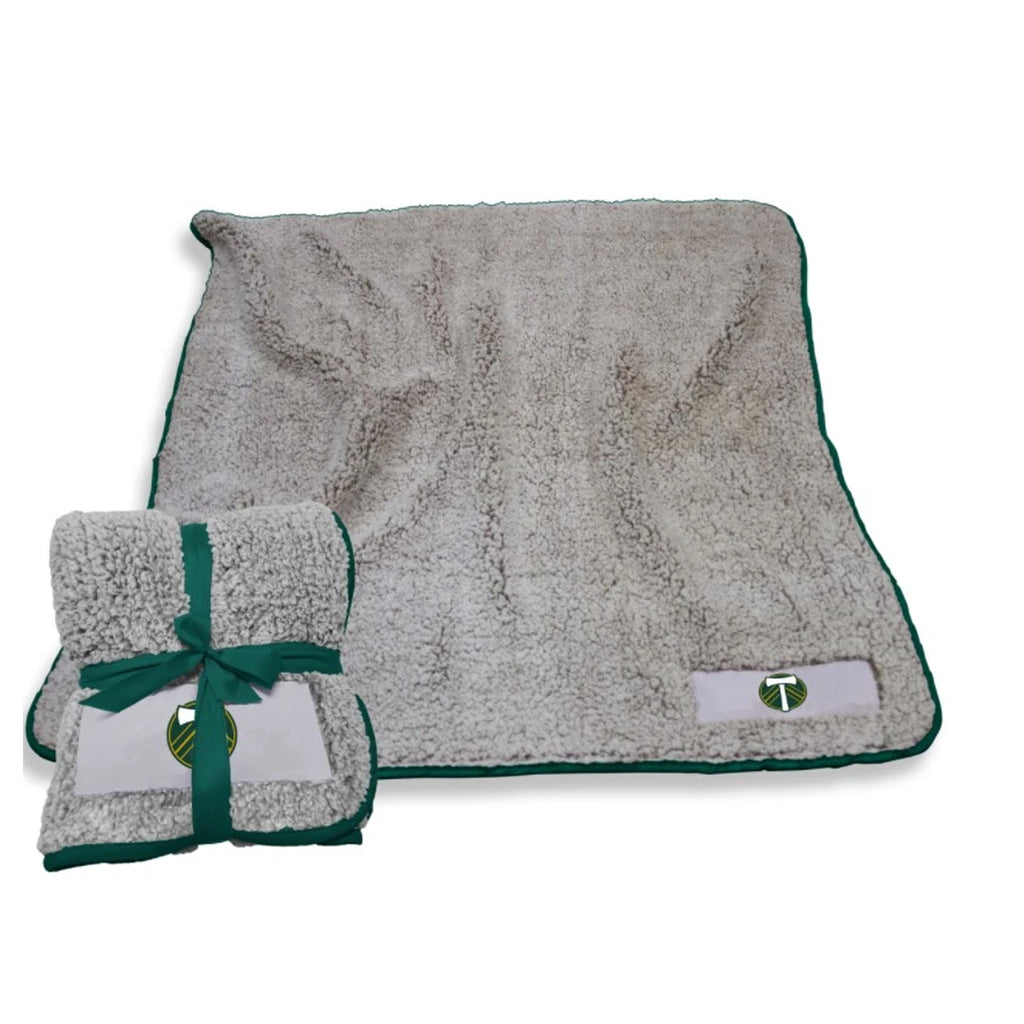 PORTLAND TIMBERS FC GREEN FROSTY FLEECE THROW
