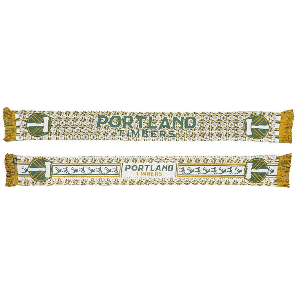PORTLAND TIMBERS FC 2019 UGLY SWEATER SCARF