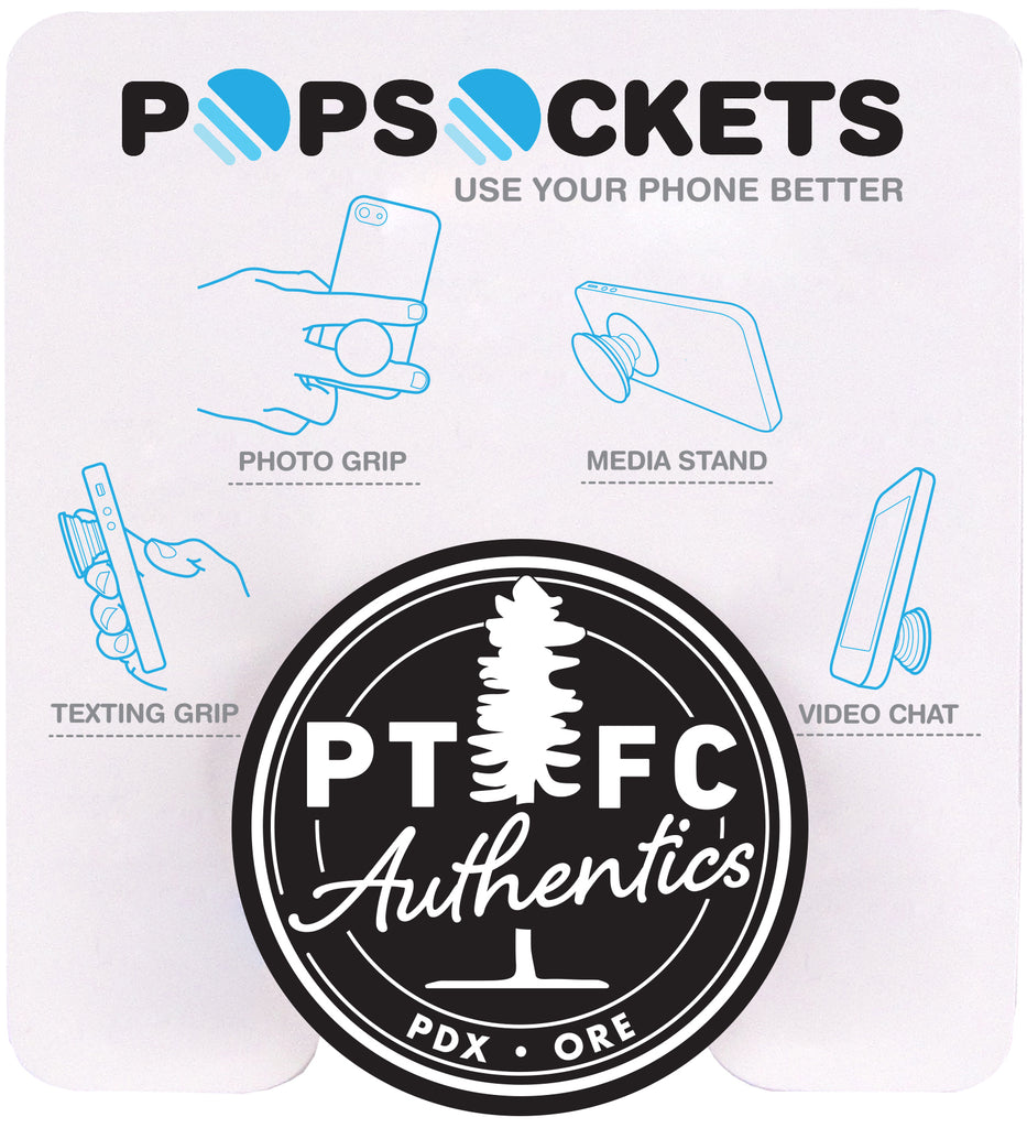 PORTLAND TIMBERS AND THORNS FC LOGO POP SOCKET