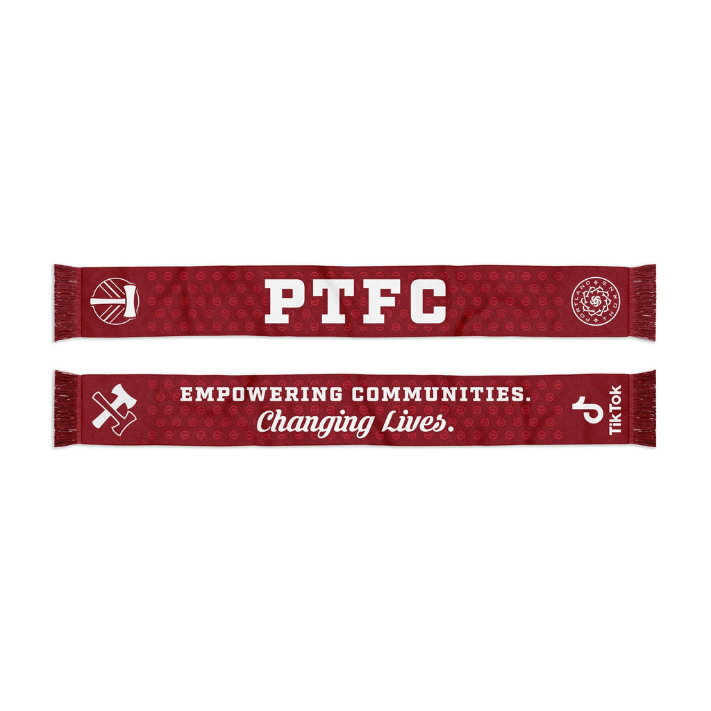 PORTLAND TIMBERS & THORNS FC TIKTOK FOR GOOD SCARF
