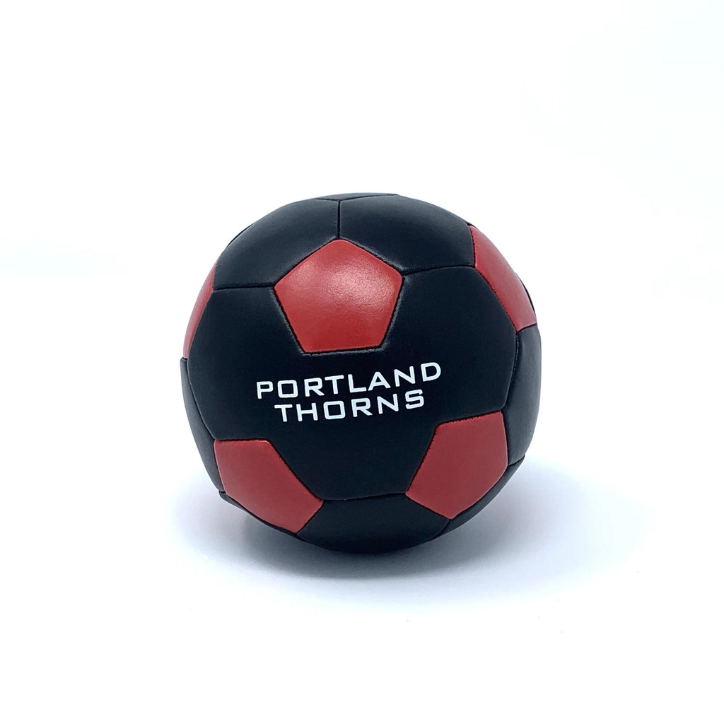 "PORTLAND THORNS FC 4"" SOFTEE BALL"