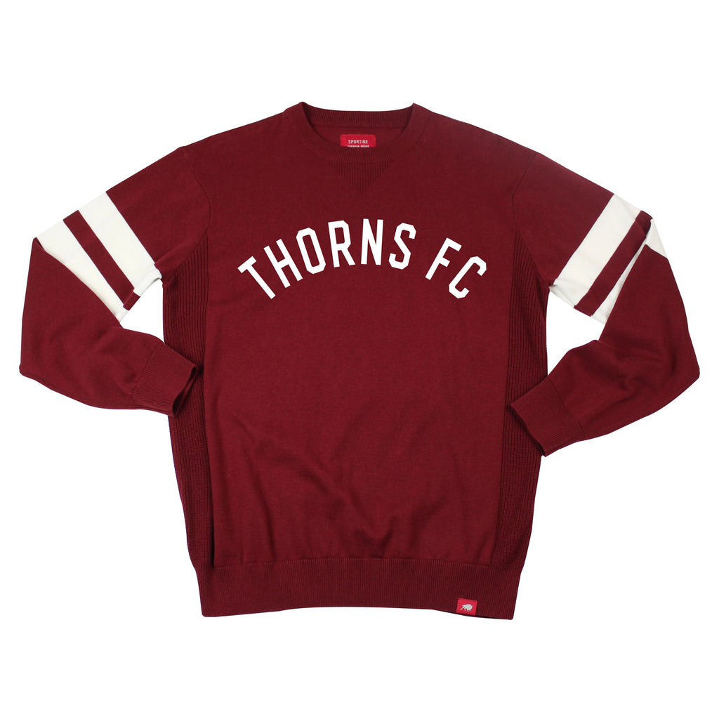 PORTLAND THORNS FC LONG SLEEVE STATE CREWNECK