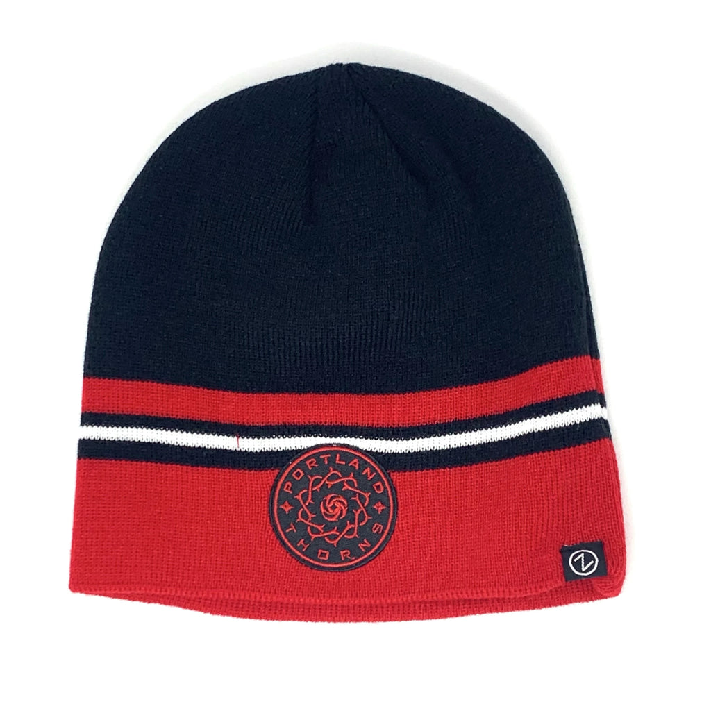 PORTLAND THORNS FC BASIC UNCUFFED KNIT BEANIE
