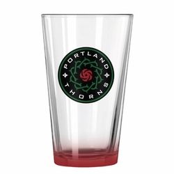 PORTLAND THORNS FC ELITE THORNS PINT GLASS