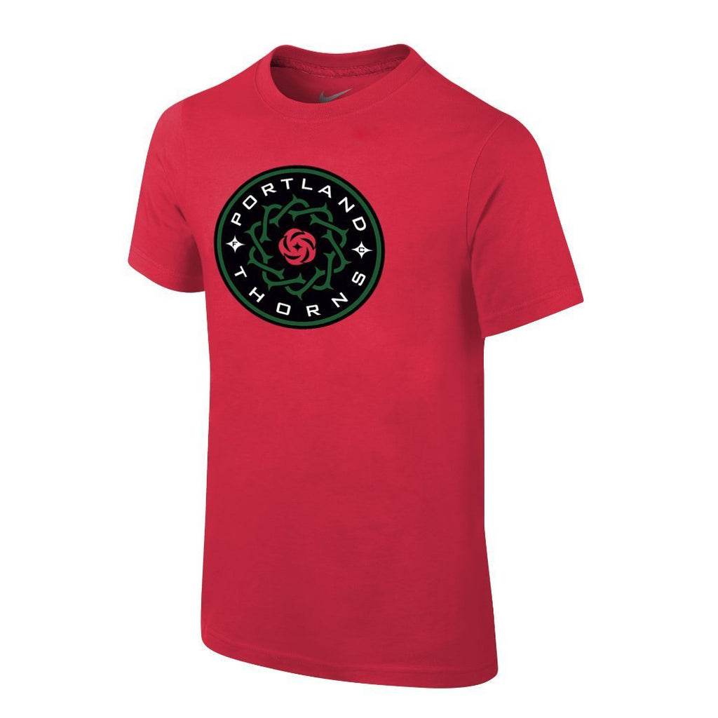 PORTLAND THORNS FC WOMEN'S LOGO SHORT SLEEVE TEE