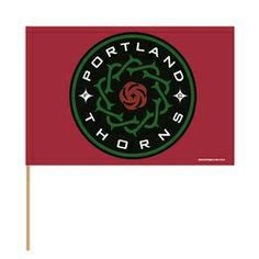 PORTLAND THORNS FC THORNS STICK FLAG