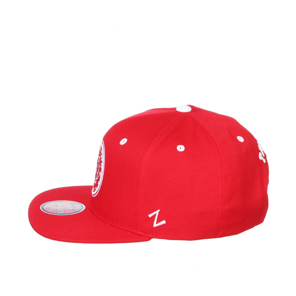 PORTLAND THORNS FC Z11 HIGHLIGHT FLAT BRIM HAT - RED