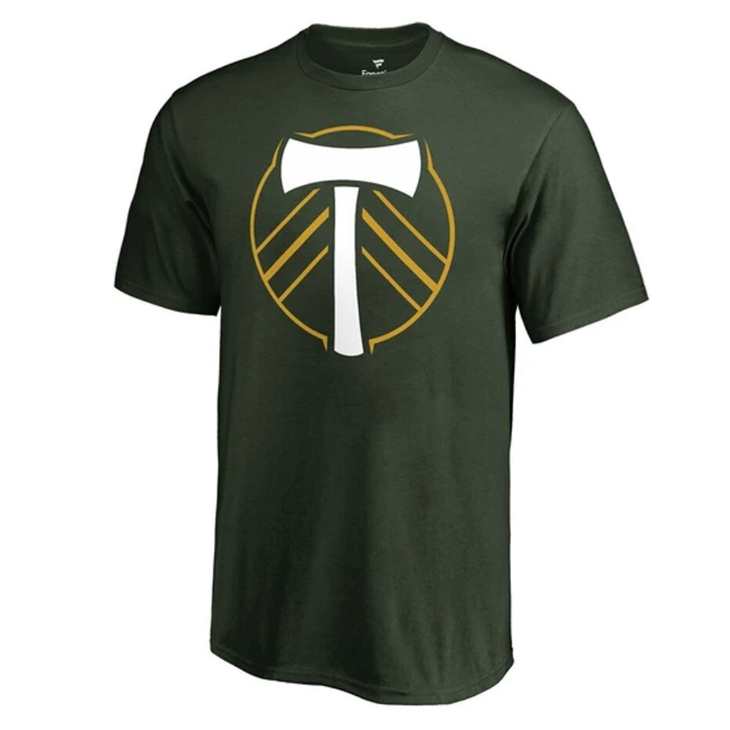PORTLAND TIMBERS FC MEN'S OFFICIAL LOGO SHORT SLEEVE TEE