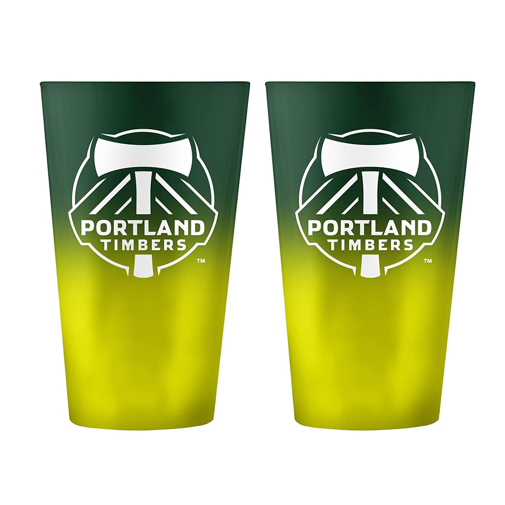 PORTLAND TIMBERS FC OMBRE PINT GLASS