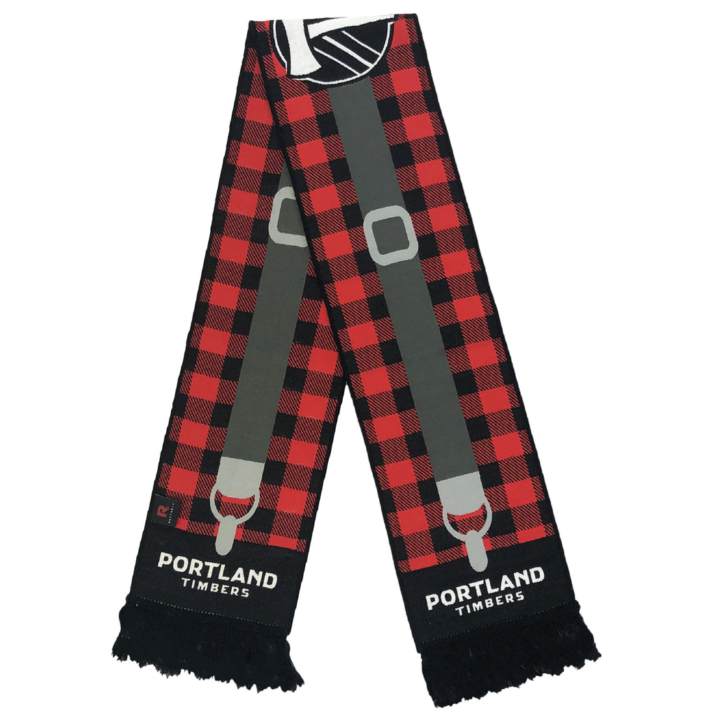 PORTLAND TIMBERS FC FLANNEL/SUSPENDERS SCARF