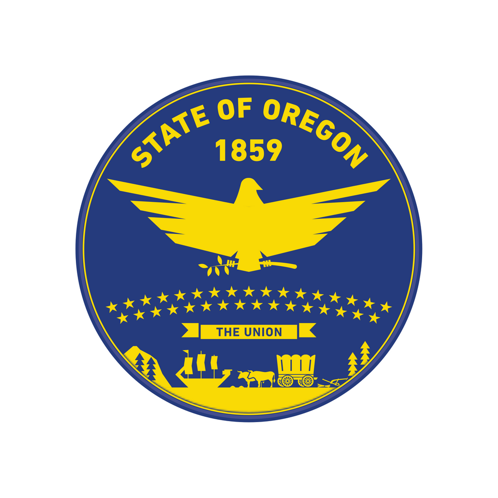 Oregon State Flag Inspired Patch