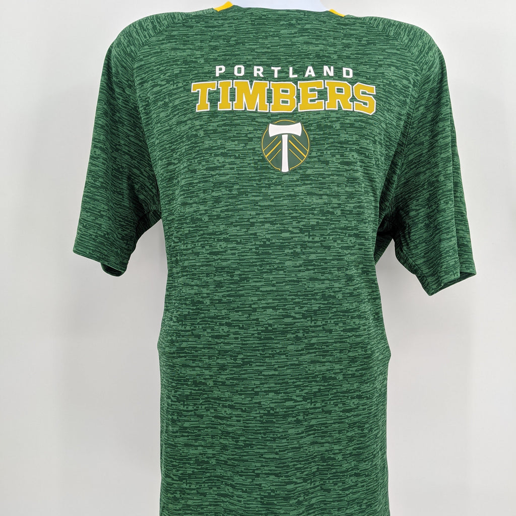 PORTLAND TIMBERS FC BACK TO BIZ SHORT SLEEVE TEE