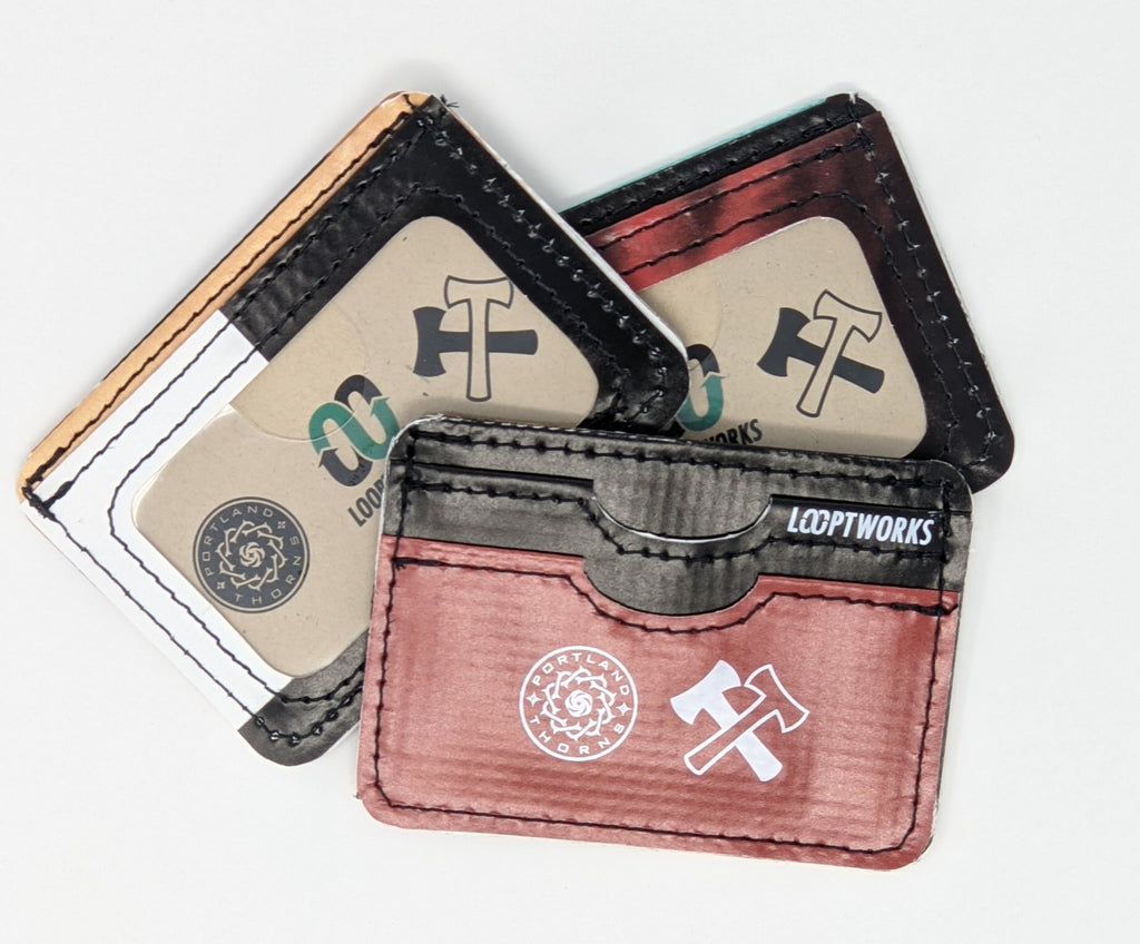 STAND TOGETHER THORNS FC LOOPWORKS UPCYCLED WALLET