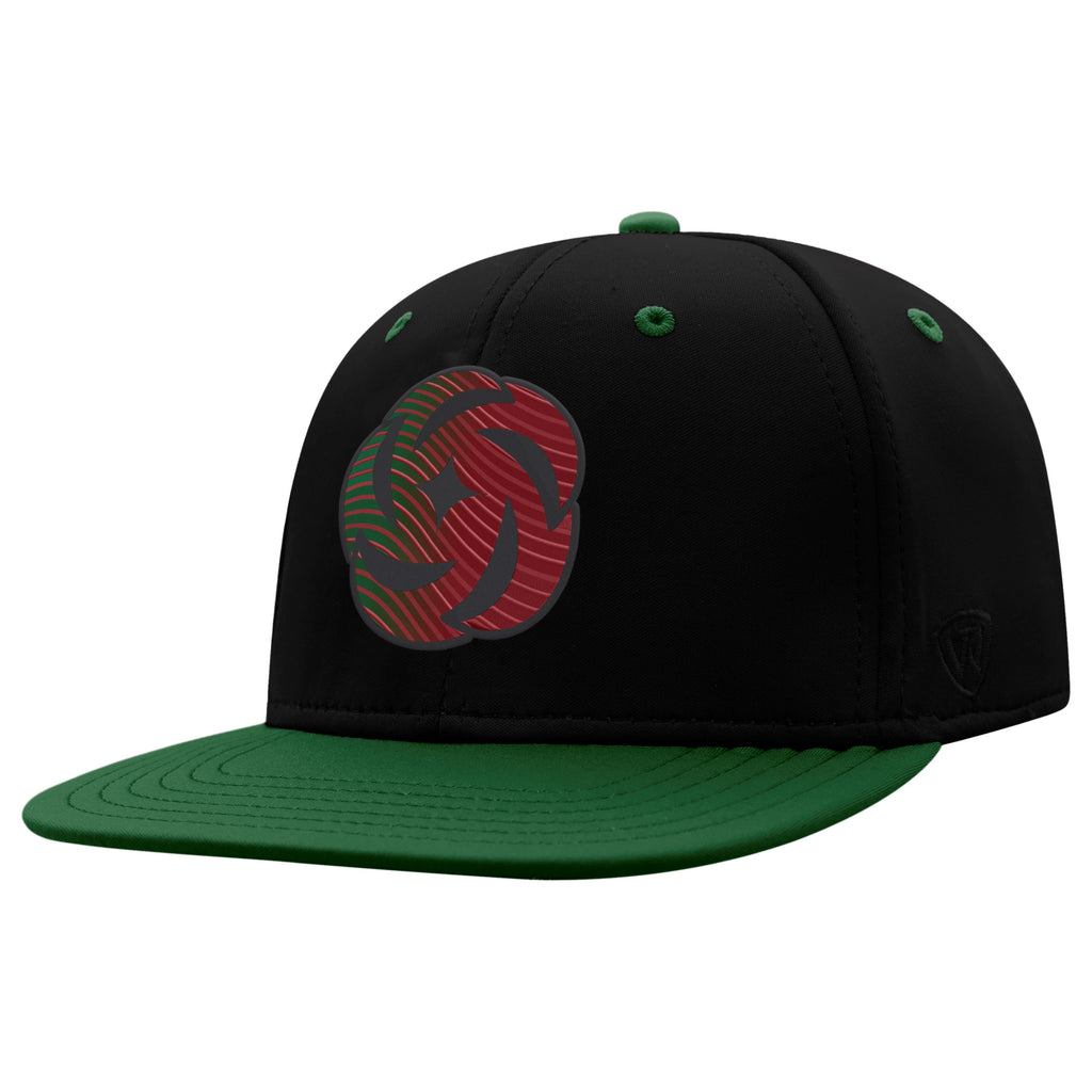Portland Thorns FC Youth Phase Hat - Green/Black