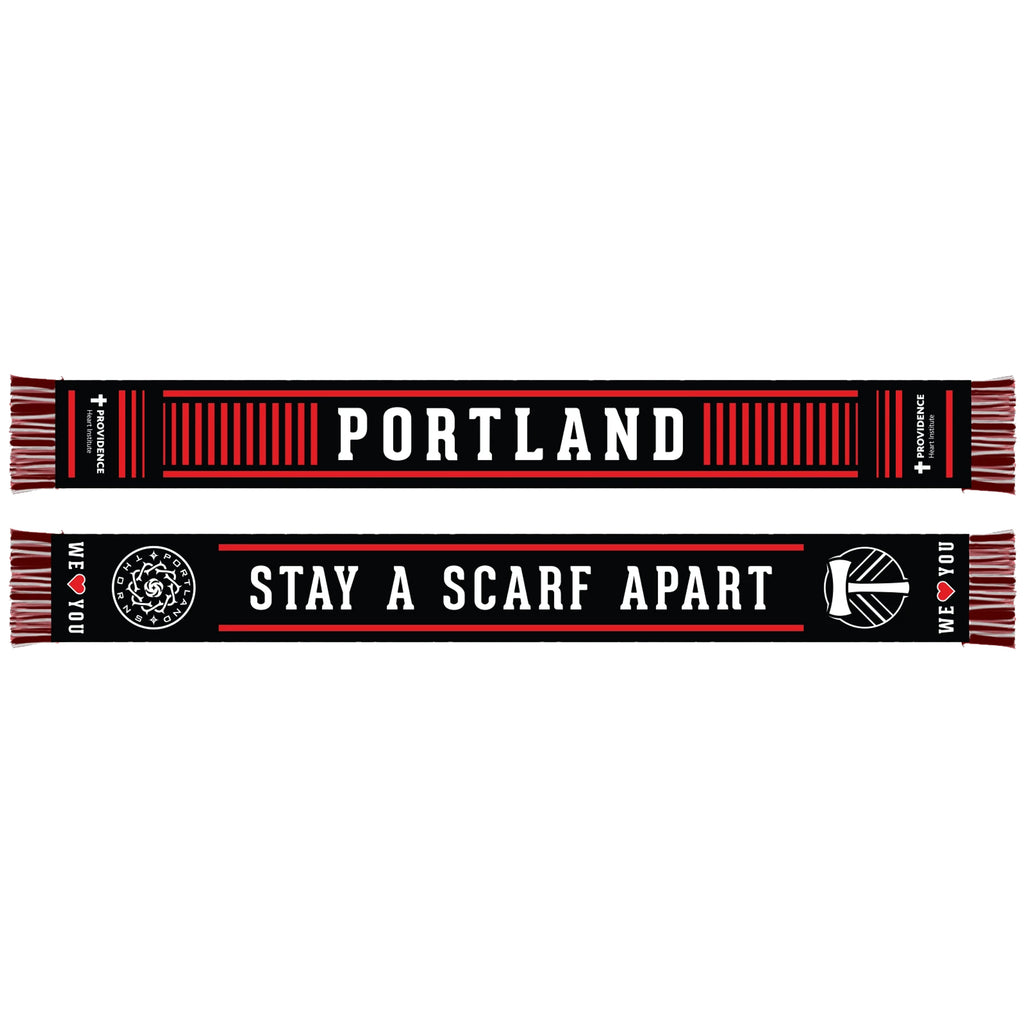 PREORDER - PORTLAND TIMBERS & THORNS FC PROVIDENCE 2020 SCARF - Starts shipping 11/30/20