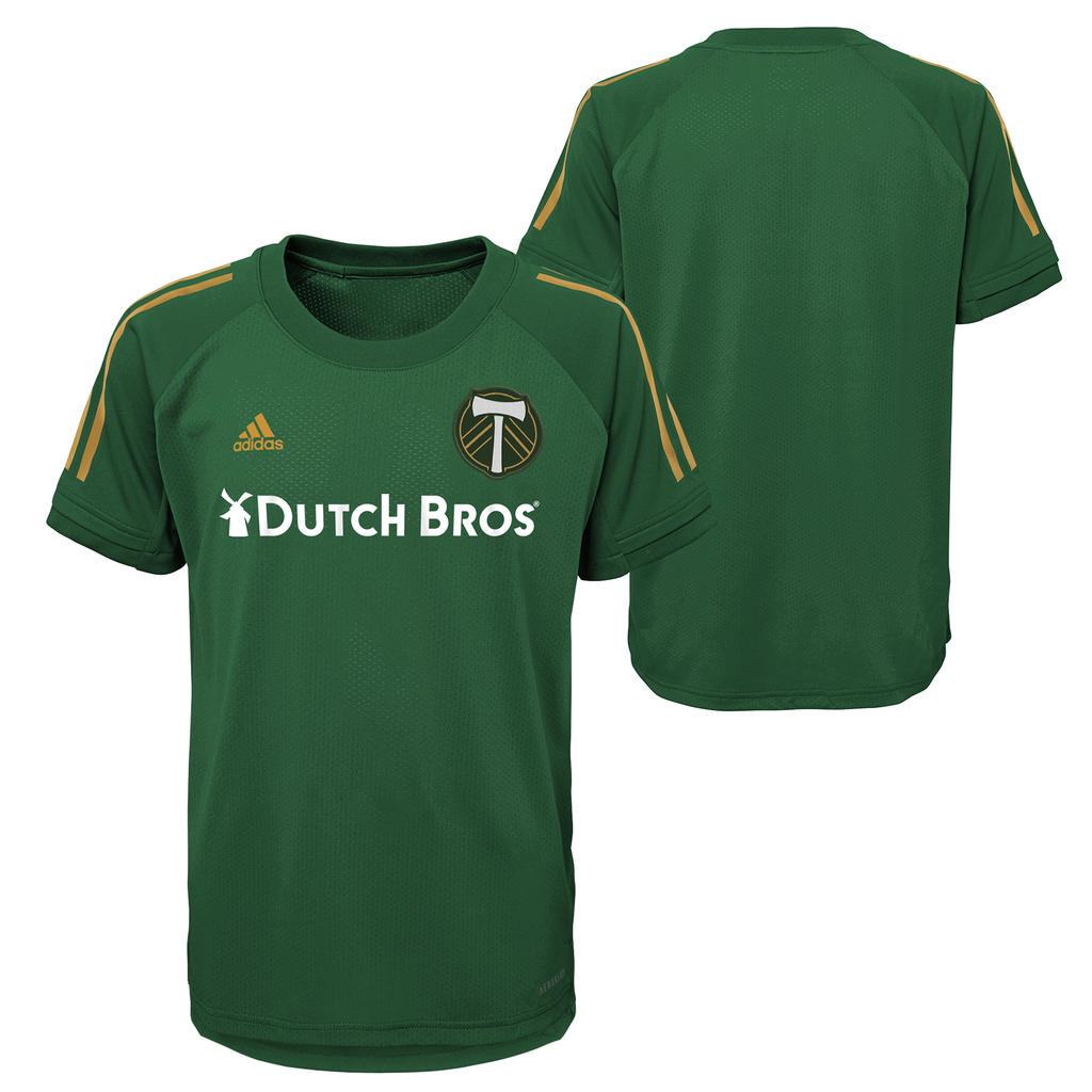 PORTLAND TIMBERS FC YOUTH 2020 TRAINING JERSEY
