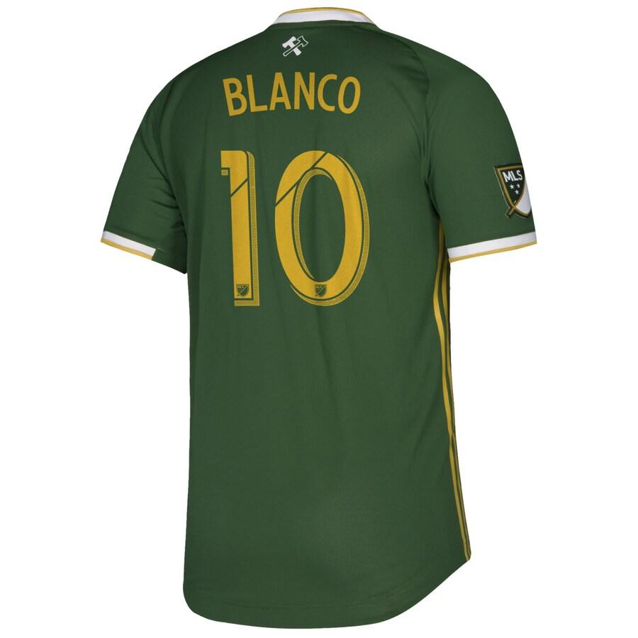 PORTLAND TIMBERS FC 2019 MEN'S AUTHENTIC PRIMARY JERSEY - BLANCO