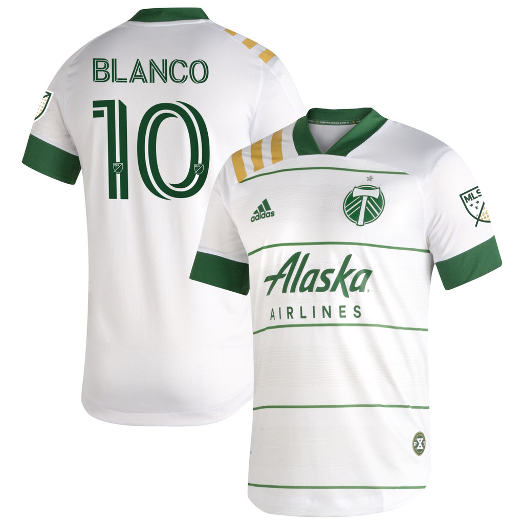 PORTLAND TIMBERS FC 2020 MEN'S AUTHENTIC SECONDARY JERSEY - BLANCO