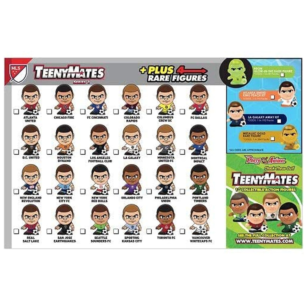 PORTLAND TIMBERS FC TEENYMATES PACKET