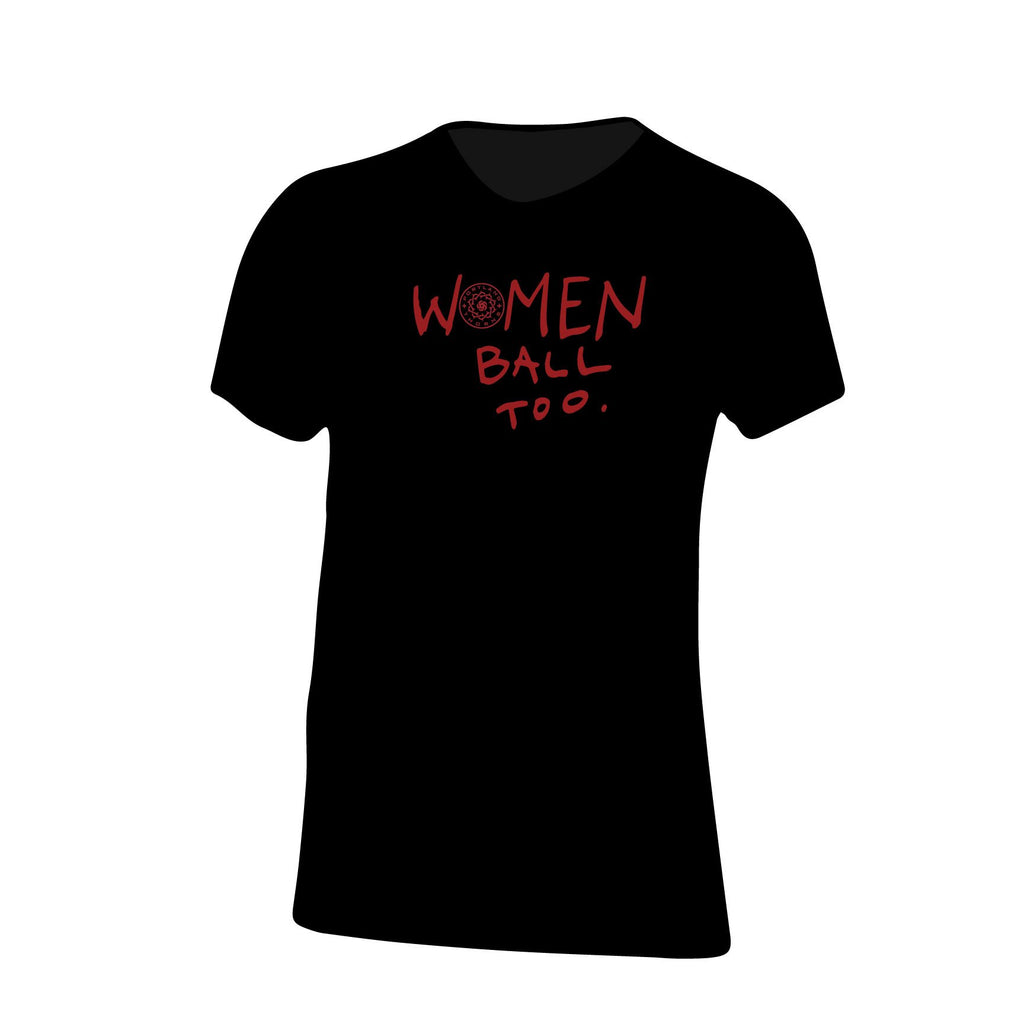 "PORTLAND THORNS FC ""WOMEN BALL TOO"" SHORT SLEEVE TEE"