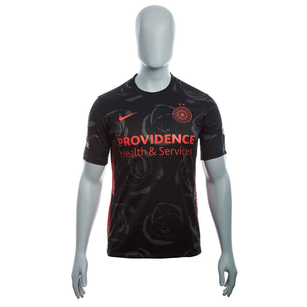 "PRE CUSTOMIZED ""SAUERBRUNN #4"" PORTLAND THORNS FC 2020-21 WOMENS REPLICA PRIMARY JERSEY"