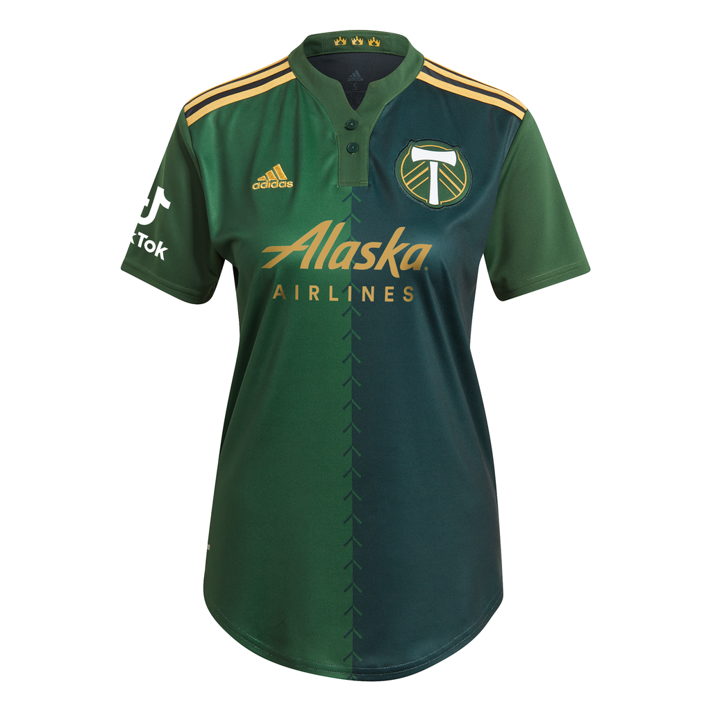 PORTLAND TIMBERS FC 2021-22 WOMEN'S PRIMARY JERSEY