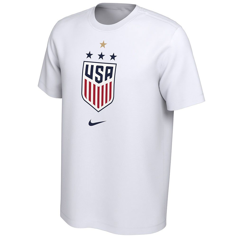PORTLAND THORNS FC USWNT CHAMPS 4-STAR SHORT SLEEVE TEE
