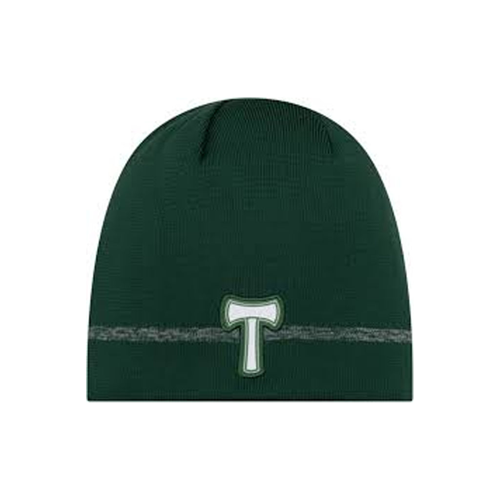 PORTLAND TIMBERS FC 2020 ON-FIELD UNCUFFED KNIT BEANIE