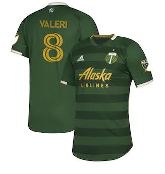 PORTLAND TIMBERS FC 2020 MEN'S AUTHENTIC PRIMARY JERSEY - VALERI