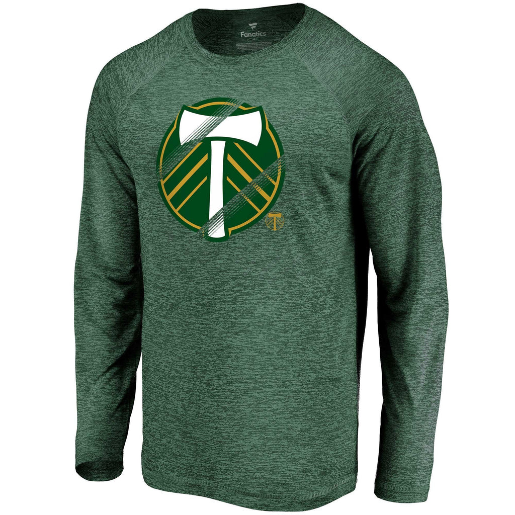 PORTLAND TIMBERS FC MEN'S VITAL SUCCESS LONG SLEEVE TEE