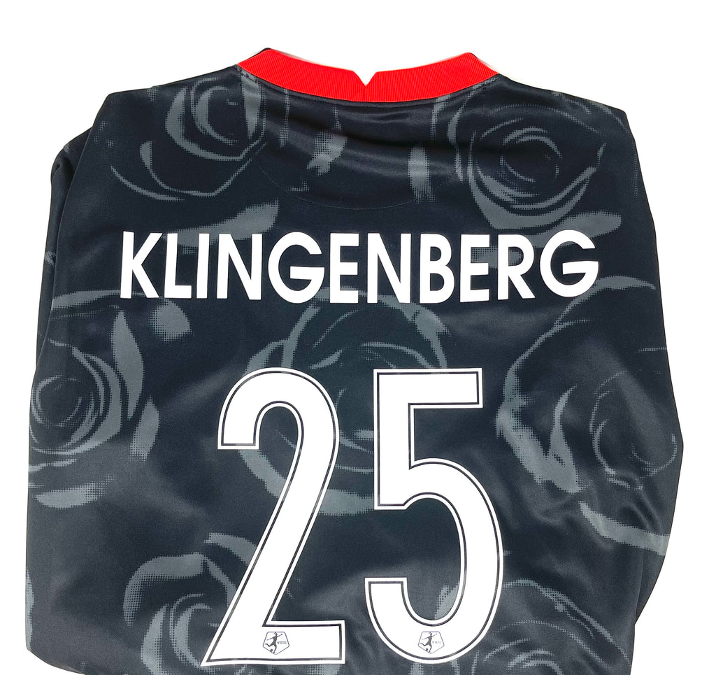 "PRE CUSTOMIZED ""KLINGENBERG #25"" PORTLAND THORNS FC 2020-21 MEN'S REPLICA PRIMARY JERSEY"