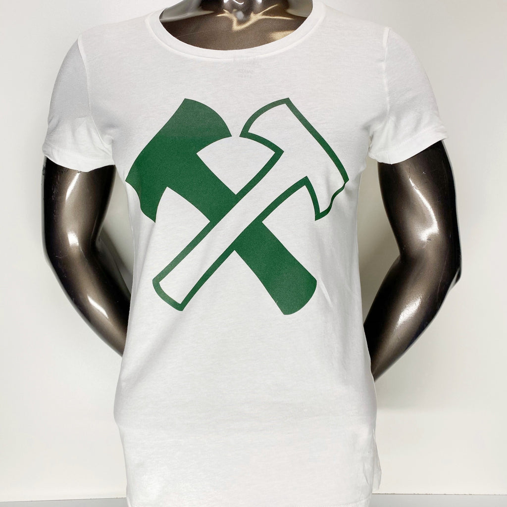 PORTLAND TIMBERS FC WOMEN'S STAND TOGETHER AXE TEE