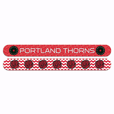 "PORTLAND THORNS FC 7"" LOGO NAIL FILE"