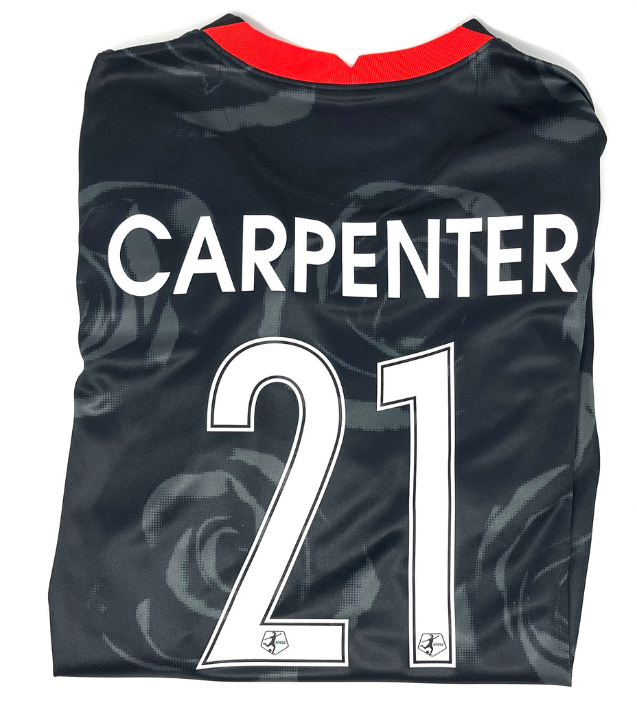 "PRE-CUSTOMIZED ""CARPENTER"" PORTLAND THORNS FC WOMEN'S 2020-21 REPLICA PRIMARY JERSEY"