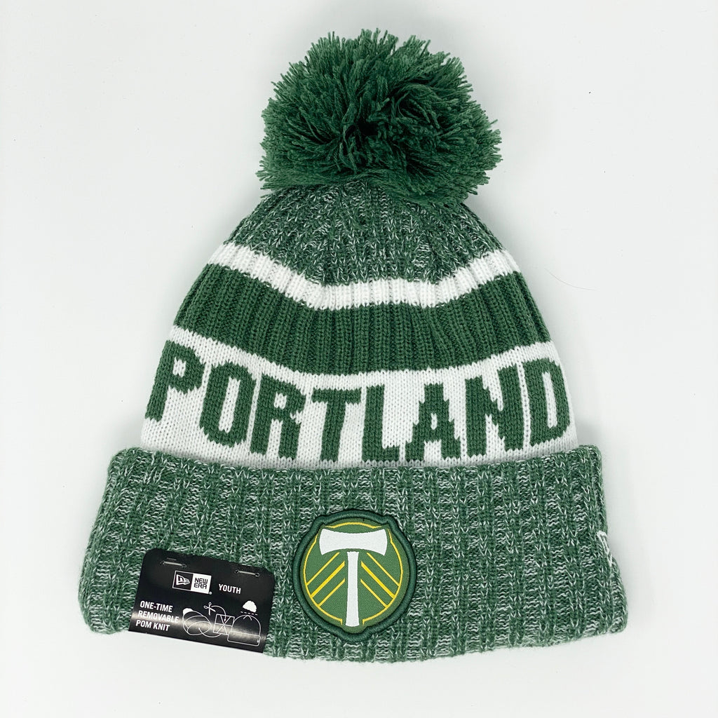 PORTLAND TIMBERS FC YOUTH JR JAKE KNIT BEANIE