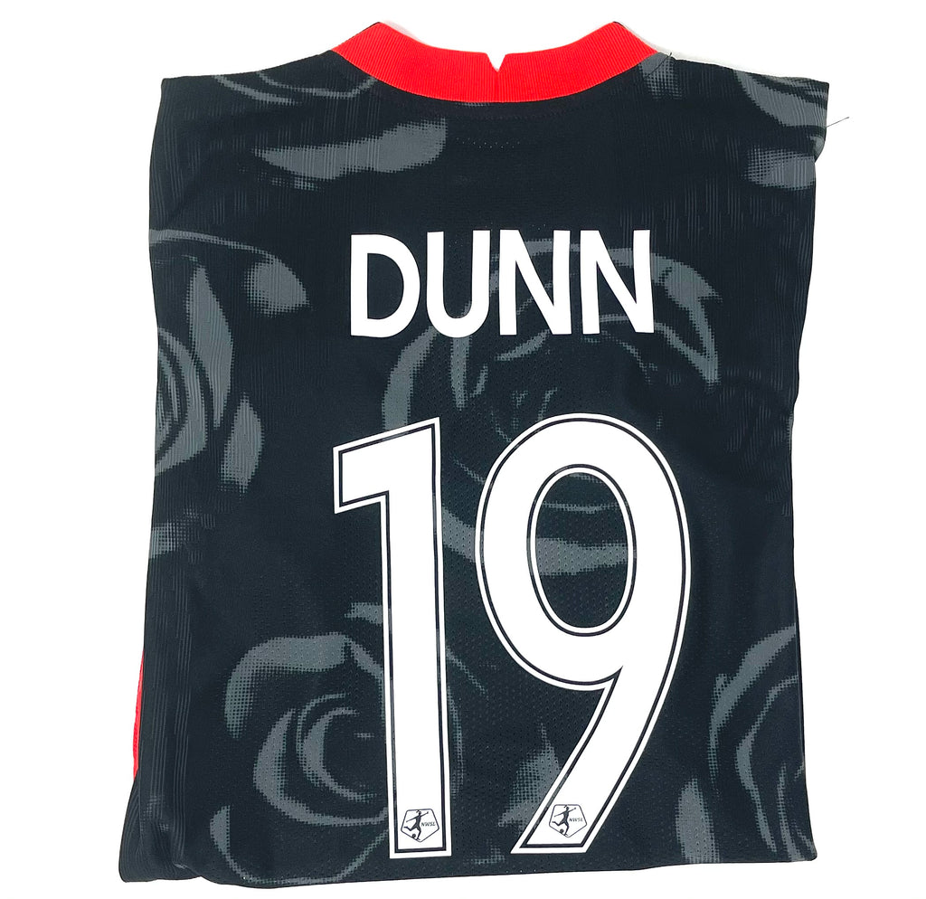 "PRE CUSTOMIZED ""DUNN #19"" PORTLAND THORNS FC WOMEN'S 2020-21 AUTHENTIC  PRIMARY JERSEY"