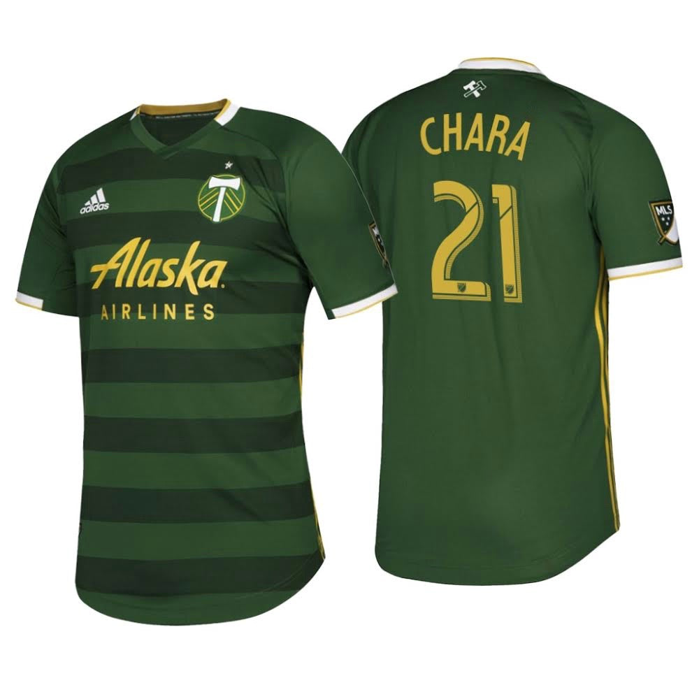 PORTLAND TIMBERS FC 2019 MEN'S AUTHENTIC PRIMARY JERSEY - CHARA