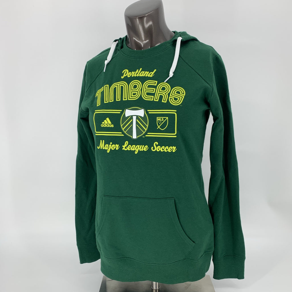 PORTLAND TIMBERS FC WOMEN'S ARCH HOODIE