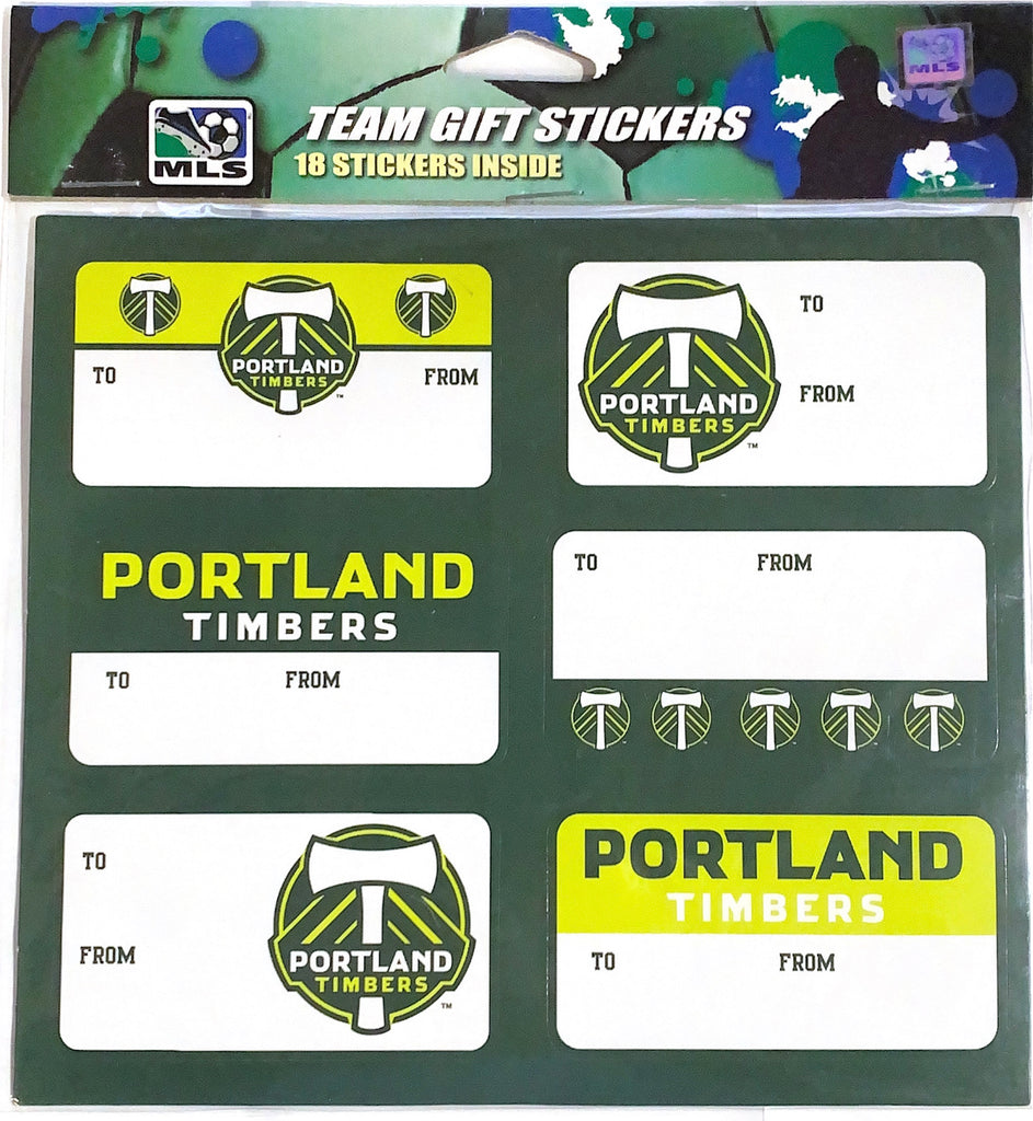 PORTLAND TIMBERS FC GIFT DECALS