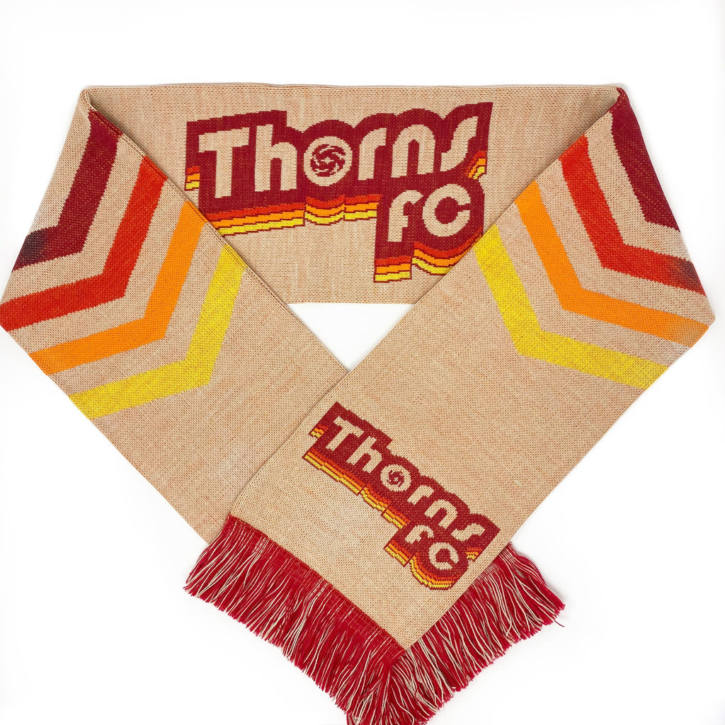 PORTLAND THORNS FC 2020 RETRO SCARF