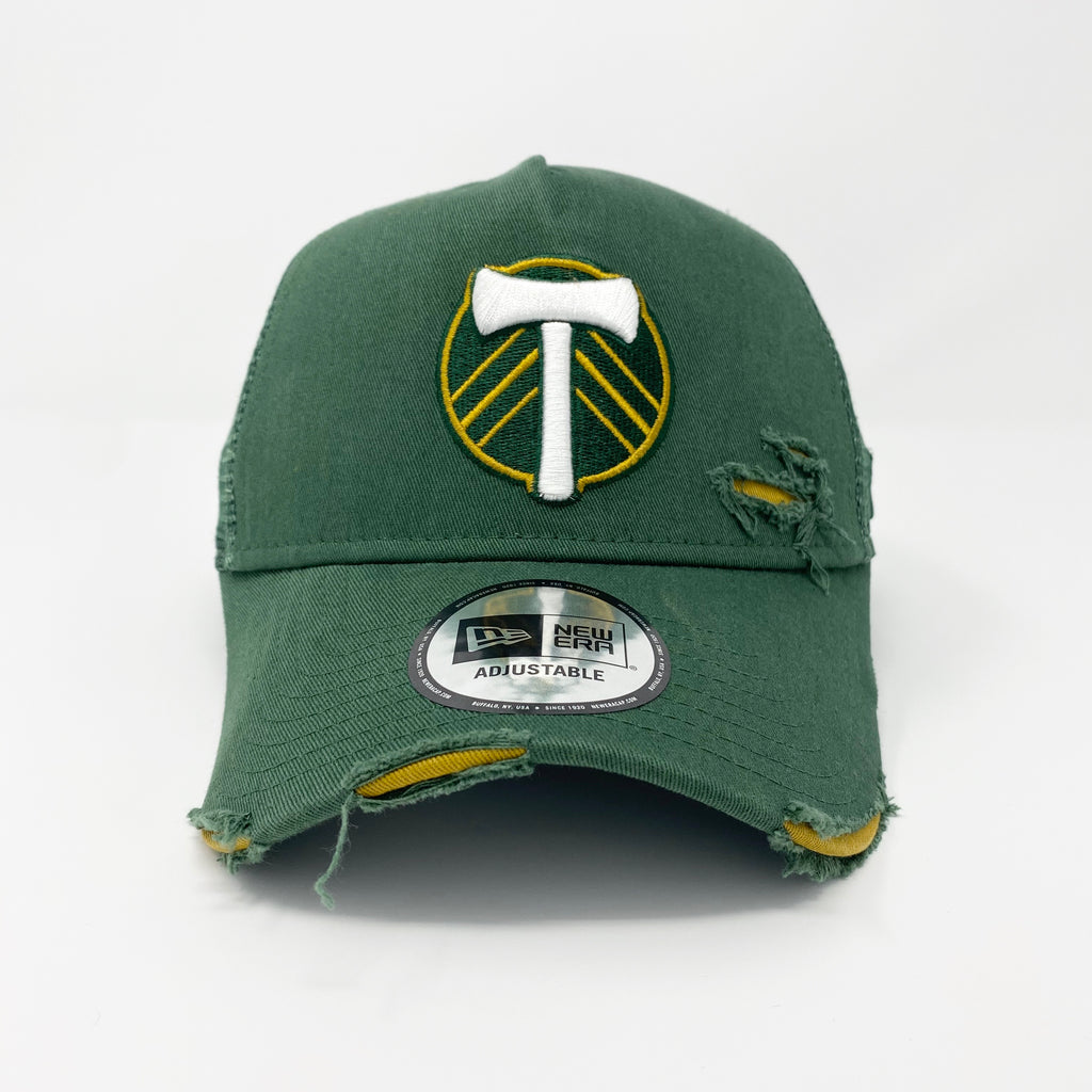 PORTLAND TIMBERS FC DISTRESSED TRUCKER ADJUSTABLE