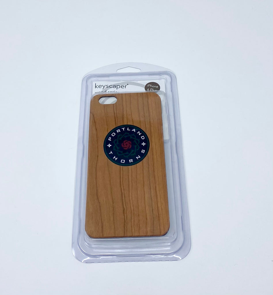 PORTLAND THORNS FC IPHONE 6+ WOOD CASE