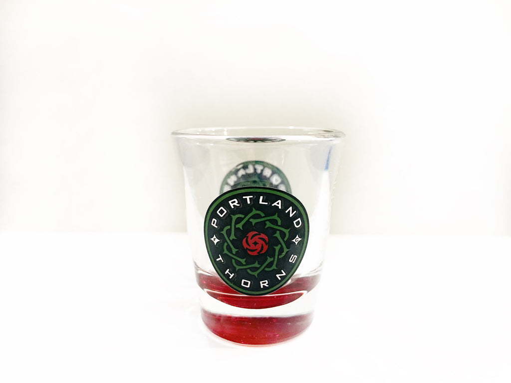 PORTLAND THORNS FC ELITE THORNS SHOT GLASS