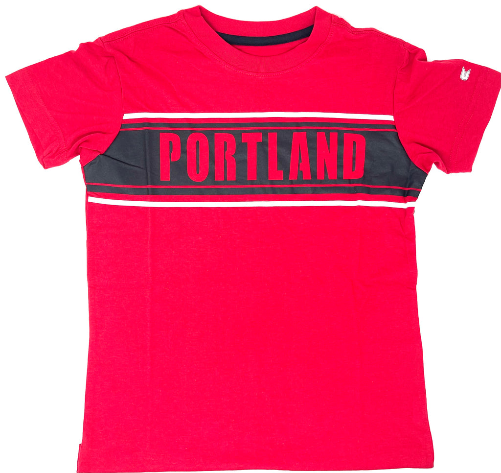 PORTLAND THORNS FC YOUTH CAMPING SHORT SLEEVE TEE