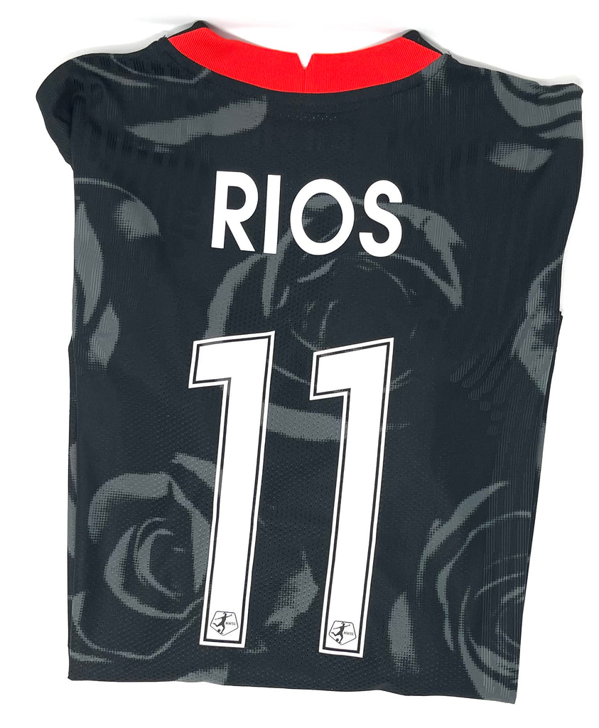 "PRE CUSTOMIZED ""RIOS"" PORTLAND THORNS FC WOMEN'S 2020-21 AUTHENTIC  PRIMARY JERSEY"