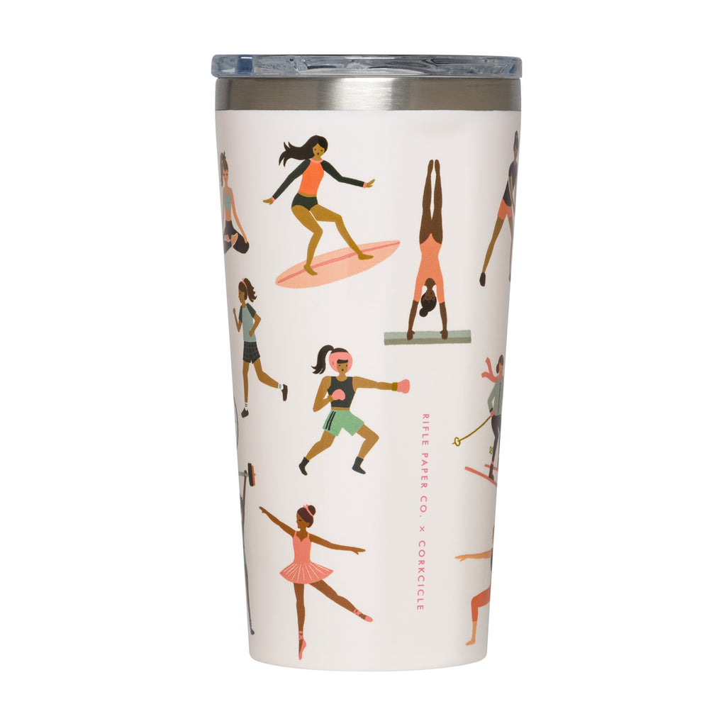 PORTLAND THORNS FC SPORTS GIRL 16OZ TUMBLER