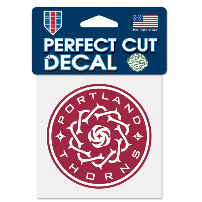 PORTLAND THORNS FC 4X4 DIE CUT DECAL