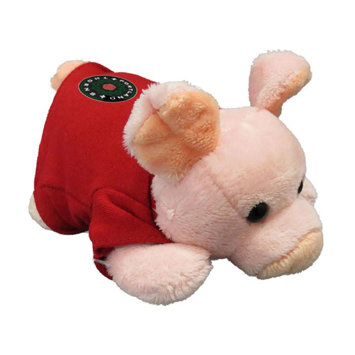 Portland Thorns FC Chublet Plush Pig with Tee
