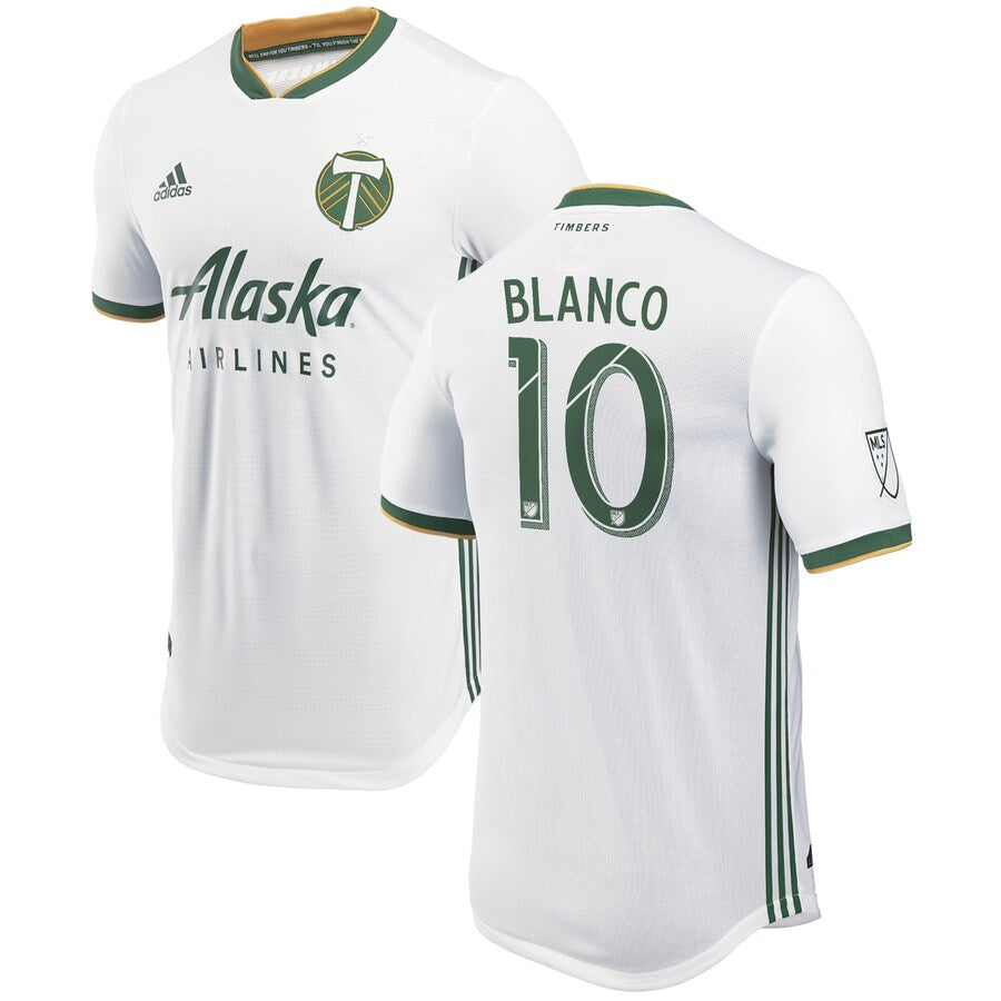 PORTLAND TIMBERS FC 2019 MEN'S AUTHENTIC SECONDARY JERSEY - BLANCO